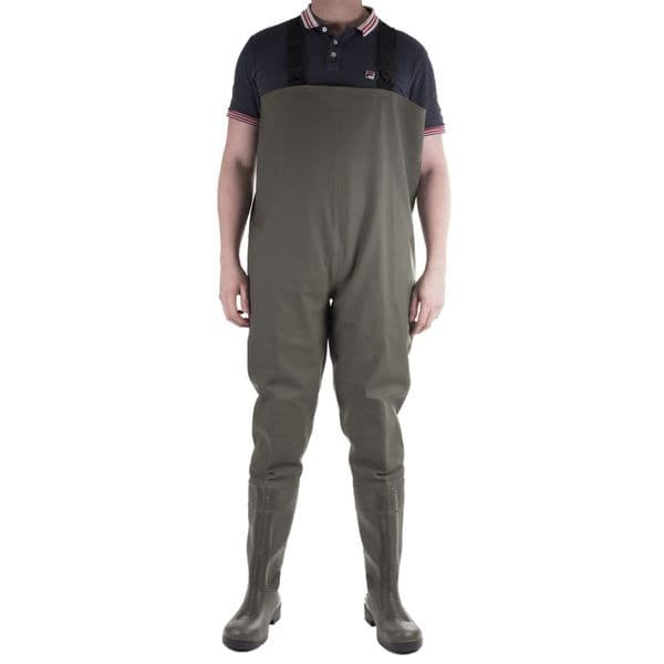Amblers Safety Tyne Chest Safety Wader Waders Green